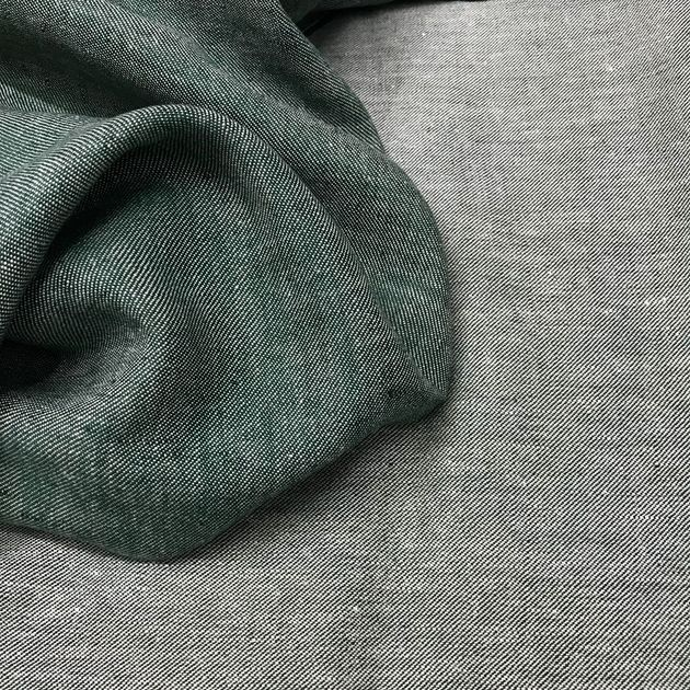 741 - Linen and Hemp coloured Green