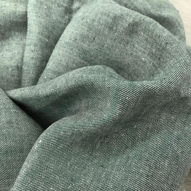 712 - Table linen - BIO Denim Green