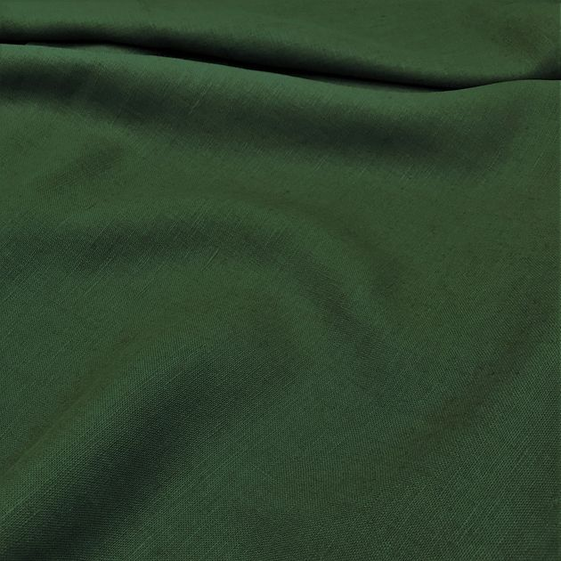 342 - Coloured Linen for curtains green