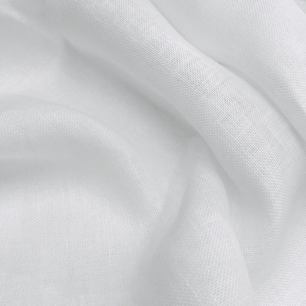 Linen cheesecloth White